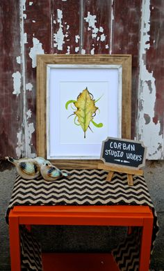 The Yellow Leaf of Fall by CorbanStudioWorks on Etsy. Available in 8x10 and matted 11x14.