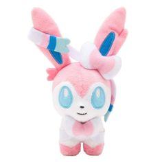 Plush Doll Pokemon x Y Sylveon Pokedoll Pokemon Center Original    OMg I need this!!!