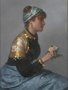 Achille Mollica - A token of love (1898)