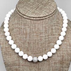 White Jade Radiance Necklace
