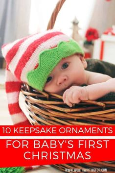 11 Best Keepsake Ornaments for Baby's First Christmas 2019 Find the perfect Baby's First Christmas Ornament! Looking for a keepsake ornament for baby's first Christmas? Check out these top 10 beautiful keepsake ornaments perfect for remembering your baby' Baby First Christmas Ornament, Babies First Christmas, Christmas Gifts For Kids, Christmas 2019, Family Christmas, All Family, Family Life, Preparing For Baby, Babies First Year