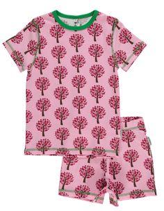 schlafanzug set kurz tree bei heldenkind