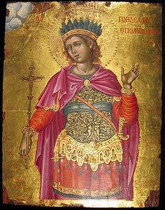 I forgot who this is. Religious Images, Religious Icons, Religious Art, Byzantine Icons, Byzantine Art, Saint Katherine, Greek Icons, Roman Church, Religious Paintings