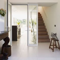 Entrance hall | Refurbished canalside London home | House tour | Homes & Gardens | Housetohome | PHOTOGALLERY