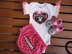 12 Best Oakland raiders baby clothes images  539208ce6