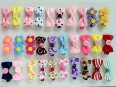 "baby/girls hair clips 1.8""  4cm"