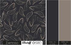 Stoff grafische Muster - Lillestoff Modal ZARTESSO - ein Designerstück von Die-Stofftante bei DaWanda