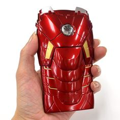 Iron Man Mark VII Armor Case For iPhone 5 Features A Flashing Power Core By Daniel Perez	 on 05/01/2013
