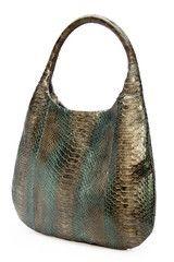 Forbidden Dunes Python Shoulder Bag | Kathryn Allen