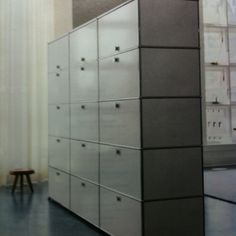 Storage as wall - room divider