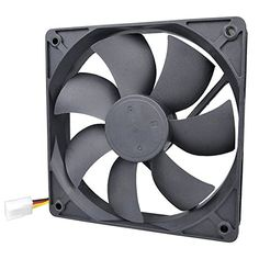 Pinfox 12V DC 120mm Quiet Cooling Fan, Variable Speed Con...