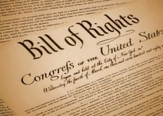 Let's not forget the Bill of Rights
