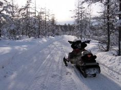 Eagle River, Wisconsin is the snowmobiling capital of the U.S.! #snowmobile