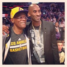 Kobe Bryant wears Givenchy Gypsy T-Shirt at Heat vs Lakers Game | UpscaleHype