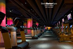 This gym looks like a night club, cant wait to check it out in miami!