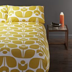 Orla Kiely Wallflower Cotton 3-piece Duvet Cover Set - Overstock™ Shopping - Great Deals on Duvet Covers