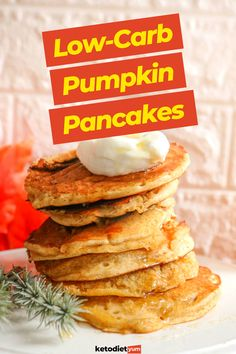 Best Keto Pumpkin Pancakes Recipe