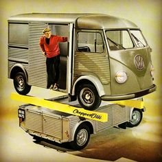 "628c41809f Olli Erkkilä on Instagram  ""Volkswagen Type H 😂  CitroenHY  Splitbus  vw   citroen  volkswagen  Volkstroën  citroenfanphoto  aircooled  aircooledvw   vannin ..."