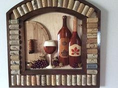 Beautiful carved wine enthusiast grapes carved from Purple Heart! Italian Restaurant Decor, Wine Rack, Wood Projects, Woodworking, Carving, Purple, Heart, Christmas, Furniture