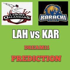 LAH vs KAR Dream11 Team Prediction PSL 26th Match Psl Teams, Chris Jordan, Fantasy Team, League Table, National Stadium, Weather Report, Staying Alive, Pakistan