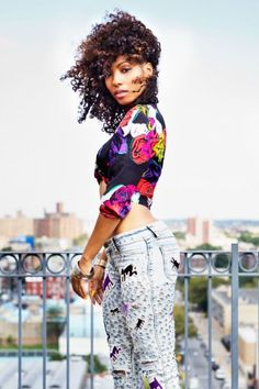 Wynter Gordon shows off her anything-but-basic style. Photos by Bek Andersen.