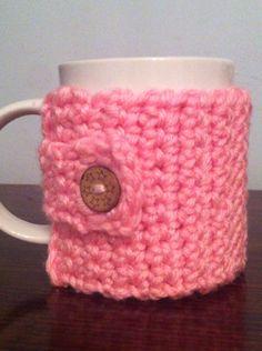 Taza mug ganchillo crochet, parte de atrás. Ana Corberán