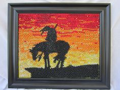 Items similar to Southwest Mardi Gras Bead Mosaic on Etsy Beads Pictures, Art Pictures, Photos, Seed Bead Art, 8th Grade Art, Mardi Gras Beads, Mosaic Madness, Melting Beads, Creative Embroidery
