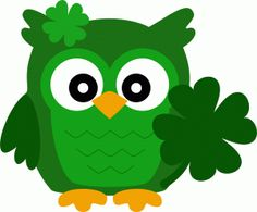 Silhouette Online Store - View Design #55900: owl st. patricks day