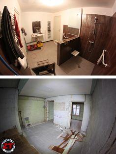 Jour 8 - Salle de bain RdC : Fin de démolition et début de fabrication de l'atelier !
