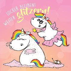 Mit ein bisschen Glitzer sieht die Welt doch gleich ganz anders aus! #pummeleinhorn #pummellove #love #einhorn #happy #kekse #essen #regenbogen #rainbow #hair #unicorn #chubby http://butimag.com/ipost/1553499702321625837/?code=BWPI7-bjjrt