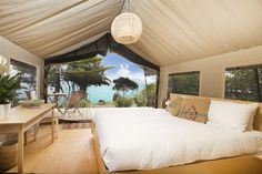 Slipper Island, Coromandel » Canopy Camping