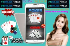 Poker Uang Asli : 99onlinepoker adalah salah satu pilihan Main Poker Uang Asli Terbaik Se - Indonesia dengan berbagai Pilihan Permainan yang di inginkan seperti Poker, Domino, Ceme, Blackjack & Capsa Susun nya dengan Pelayanan Tebaik 24 Jam