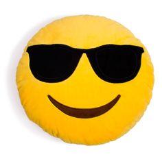 Cool Guy Emoji Pillow
