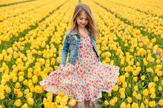 tulip field photo shoot - Google Search