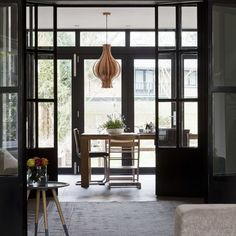Discover recipes, home ideas, style inspiration and other ideas to try. Build My Own House, Building A House, Style At Home, Eclectic Modern, Interior Decorating, Interior Design, Black Doors, Windows And Doors, Home Deco