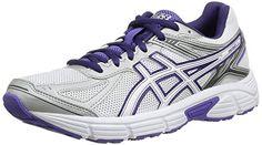 Asics Gel Patriot 7 - Zapatillas de running para mujer, color Wht/P.Wht/Purp, talla 39 - http://paracorrer.com/producto/asics-gel-patriot-7-zapatillas-de-running-para-mujer-color-whtp-whtpurp-talla-39/