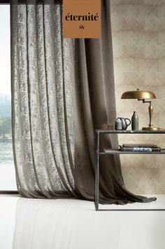 Curtains, Home Decor, Sheer Curtains, Blinds, Decoration Home, Room Decor, Draping, Home Interior Design, Picture Window Treatments