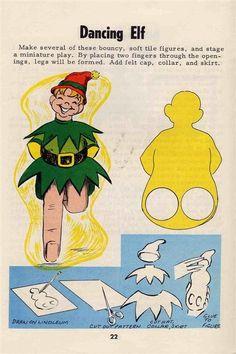 Vintage 1965 Craft Booklet