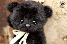 Black Little lady By Evgeniya and Igor Krasnov - Bear Pile
