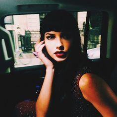 http://www.popsugar.com/latina/Adriana-Lima-Goes-Goth-2015-Met-Gala-37413213