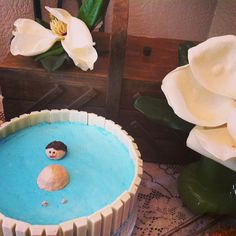 Water birth cake! How cute?! Photo by magicaldays on Instagram