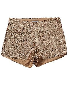 Stunning Shorts - Estradeur - Gold - Trousers & shorts - Clothing - NELLY.COM Fashion on the net