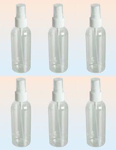 Sprühflasche Zerstäuber leer Kunststoff transparent 100 ml 6 Stück