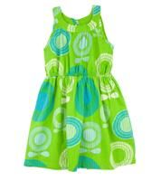 Green dress - Katvig