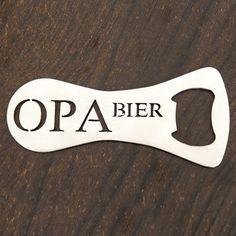 Abridor de garrafa Opa Bier de inox