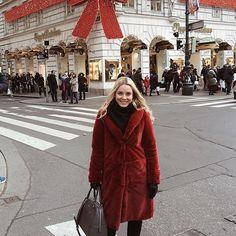Vienna my love . Vienna, Fur Coat, My Love, My Style, Jackets, Fashion, Down Jackets, Moda, Fashion Styles