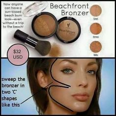 Tips and tricks on how to use our Younique Breachfront Bronzer for this summer!!! Love it! Www.youniueproducts.com/lindabanas