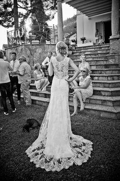 Maggie Sottero Melanie lace wedding dress