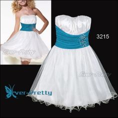 Cute Strapless Rhinestones Ruffles Mini Bridesmaid Dress