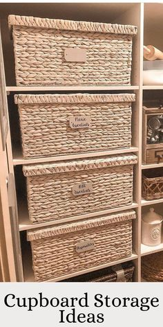 Get ideas on how to store your cupboard by @dusk2illdawn